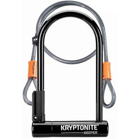 Kryptonite Keeper Standard + Kflex Candado en U 120cm